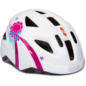 Puky PH 8 Helm Kids weiß/pink
